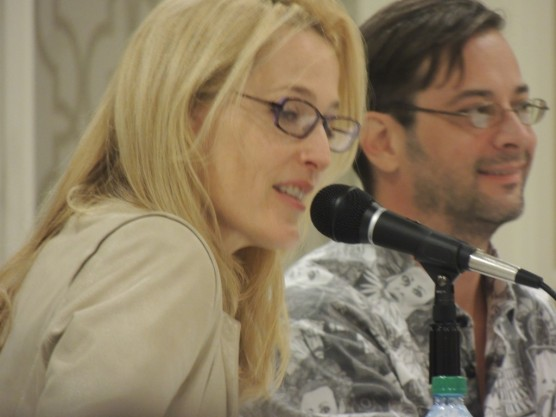 Gillian Anderson in Louisville.