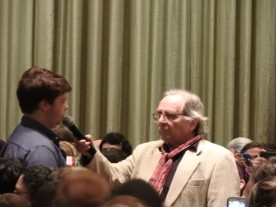 Sylvester McCoy, the seventh Doctor of Doctor Who, at Dragon Con 2015.