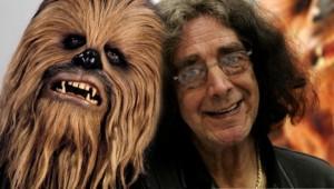Chewbacca and Peter Mayhew