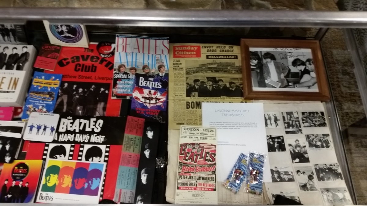 Avon Beatles exhibit open; presentation set for Sept. 13